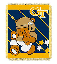 Georgia Tech Baby Jacquard Fullback Throw