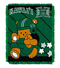 University of Hawaii Baby Jacquard Fullback Throw