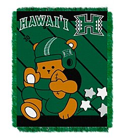 NCAA® University of Hawaii Baby Jacquard Fullback Throw