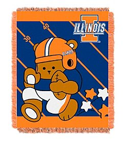 NCAA® University of Illinois Baby Jacquard Fullback Throw