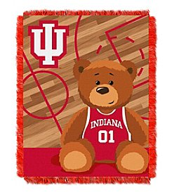 NCAA® Indiana University Baby Jacquard Fullback Throw