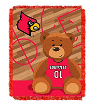 University of Louisville Baby Jacquard Fullback Throw