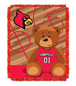 Northwest Company NCAA® Louisville Cardinals Baby Jacquard Fullback Throw
