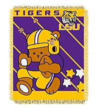 Louisiana State University Baby Jacquard Fullback Throw