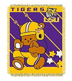 NCAA® Louisiana State University Baby Jacquard Fullback Throw