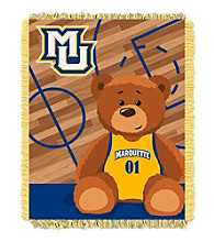 Marquette University Baby Jacquard Fullback Throw
