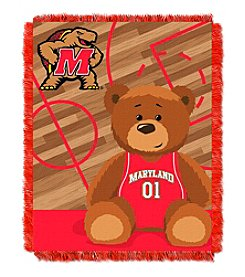 NCAA® Maryland University Baby Jacquard Fullback Throw