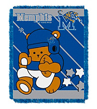 University of Memphis Baby Jacquard Fullback Throw