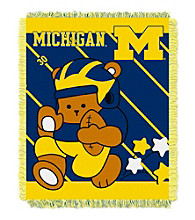 University of Michigan Baby Jacquard Fullback Throw
