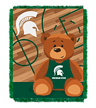 Michigan State University Baby Jacquard Fullback Throw