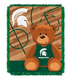 NCAA® Michigan State University Baby Jacquard Fullback Throw