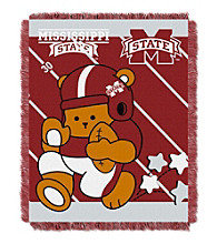 Mississippi State University Baby Jacquard Fullback Throw