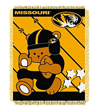 University of Missouri Baby Jacquard Fullback Throw