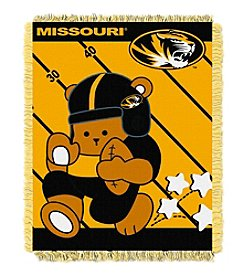 NCAA® University of Missouri Baby Jacquard Fullback Throw