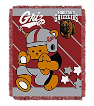 University of Montana Baby Jacquard Fullback Throw