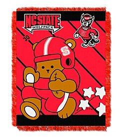 NCAA® North Carolina State University Baby Jacquard Fullback Throw