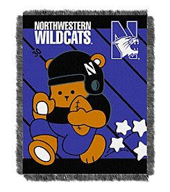 NCAA® Northwestern University Baby Jacquard Fullback Throw