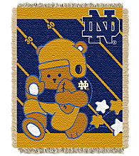 University of Notre Dame Baby Jacquard Fullback Throw
