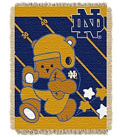 NCAA® University of Notre Dame Baby Jacquard Fullback Throw
