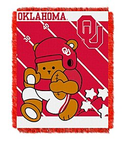 NCAA® University of Oklahoma Baby Jacquard Fullback Throw