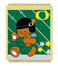 University of Oregon Baby Jacquard Fullback Throw