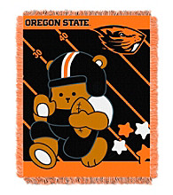 Oregon State University Baby Jacquard Fullback Throw