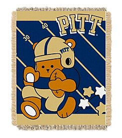 NCAA® University of Pittsburgh Baby Jacquard Fullback Throw