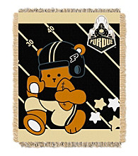 Purdue University Baby Jacquard Fullback Throw