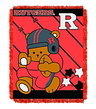 Rutgers University Baby Jacquard Fullback Throw
