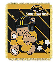 University of Southern Mississippi Baby Jacquard Fullback Throw