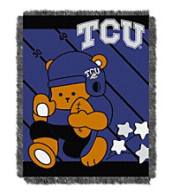 Texas Christian University Baby Jacquard Fullback Throw