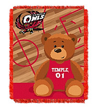 Temple University Baby Jacquard Fullback Throw