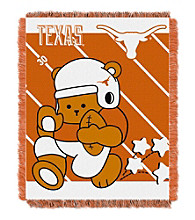 University of Texas Baby Jacquard Fullback Throw