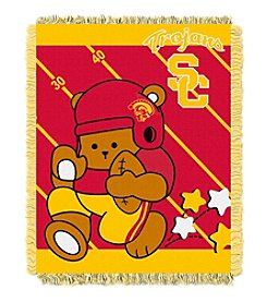 NCAA® University of Southern California Baby Jacquard Fullback Throw