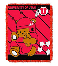 University of Utah Baby Jacquard Fullback Throw