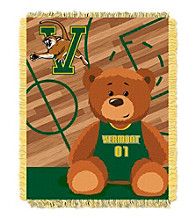 University of Vermont Baby Jacquard Fullback Throw