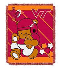 Virginia Tech University Baby Jacquard Fullback Throw