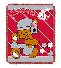 Washington State University Baby Jacquard Fullback Throw
