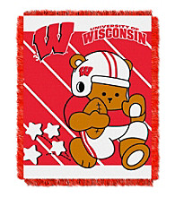 University of Wisconsin Baby Jacquard Fullback Throw