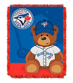 MLB® Toronto Blue Jays Teddy Bear Baby Jacquard Throw