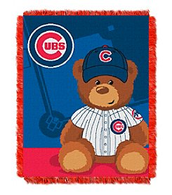 MLB® Chicago Cubs Teddy Bear Baby Jacquard Throw
