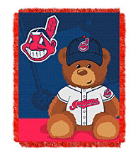 Cleveland Indians Baby Jacquard Throw Field