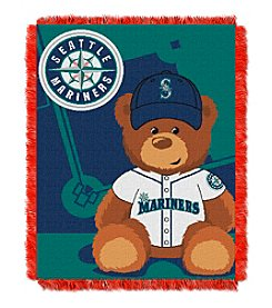 MLB® Seattle Mariners Teddy Bear Baby Jacquard Throw