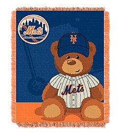 MLB® New York Mets Teddy Bear Baby Jacquard Throw
