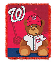 Washington Nationals Baby Jacquard Throw Field