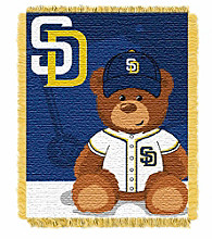 San Diego Padres Baby Jacquard Throw Field