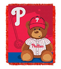 Philadelphia Phillies Baby Jacquard Throw Field