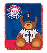 Texas Rangers Baby Jacquard Throw Field