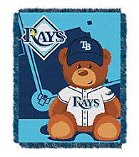 Tampa Bay Rays Baby Jacquard Throw Field