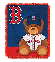 Boston Red Sox Baby Jacquard Throw Field